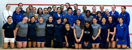 2008 U.S. Women's Colleges Squash Champs Participants & Coaches