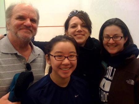 Mr. Kilgore, Joanne, Ashley, Becky