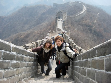Luisa Tsang, Smith Squash & the Great Wall of China!