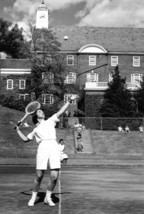 Tennis in the 1950's at Smith College