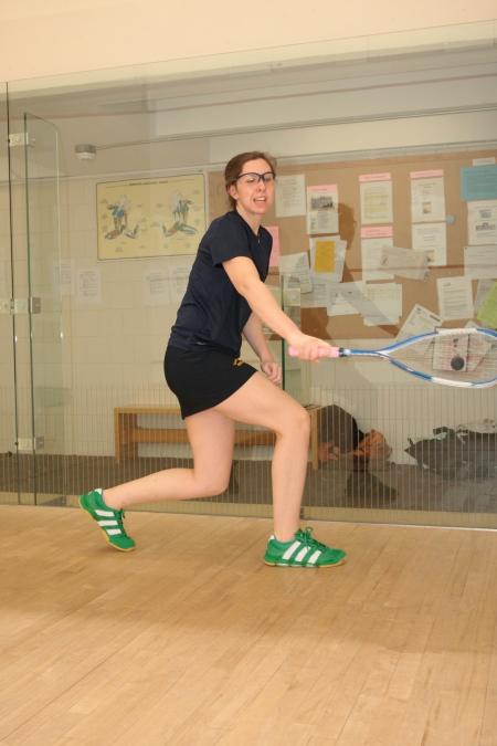 Meg Oliverio - 2 Yrs. on Smith Squash