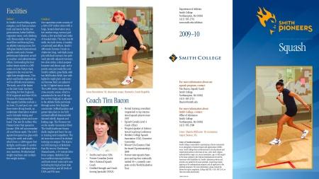 Smith College Squash 2009.10 Brochure